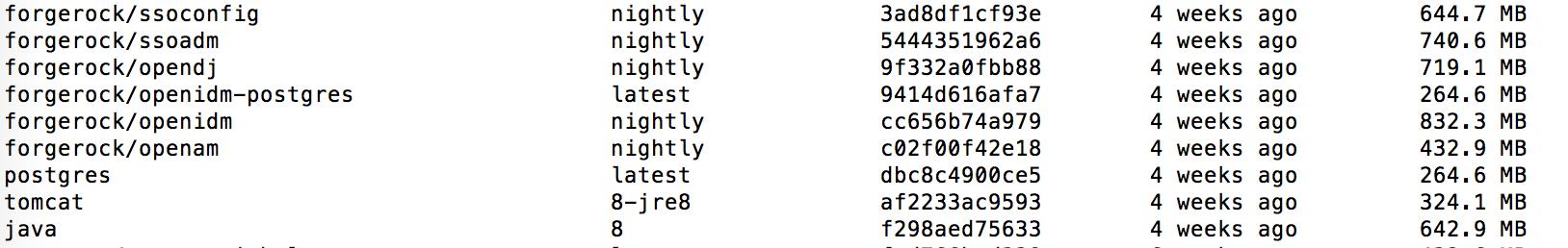 Deploying #OpenAM instances in #Docker